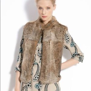 Gabor Genuine Rabbit Fur Vest what goes around